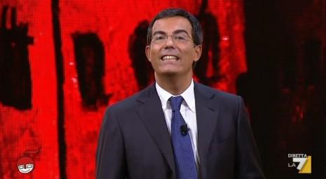 Giovanni Floris, conduttore di DiMartedì su La7