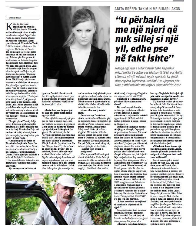 La mia intervista su Gazeta Dita