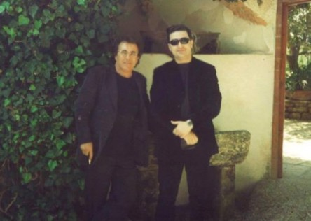 Ekland Hasa con Albano Carrisi.
