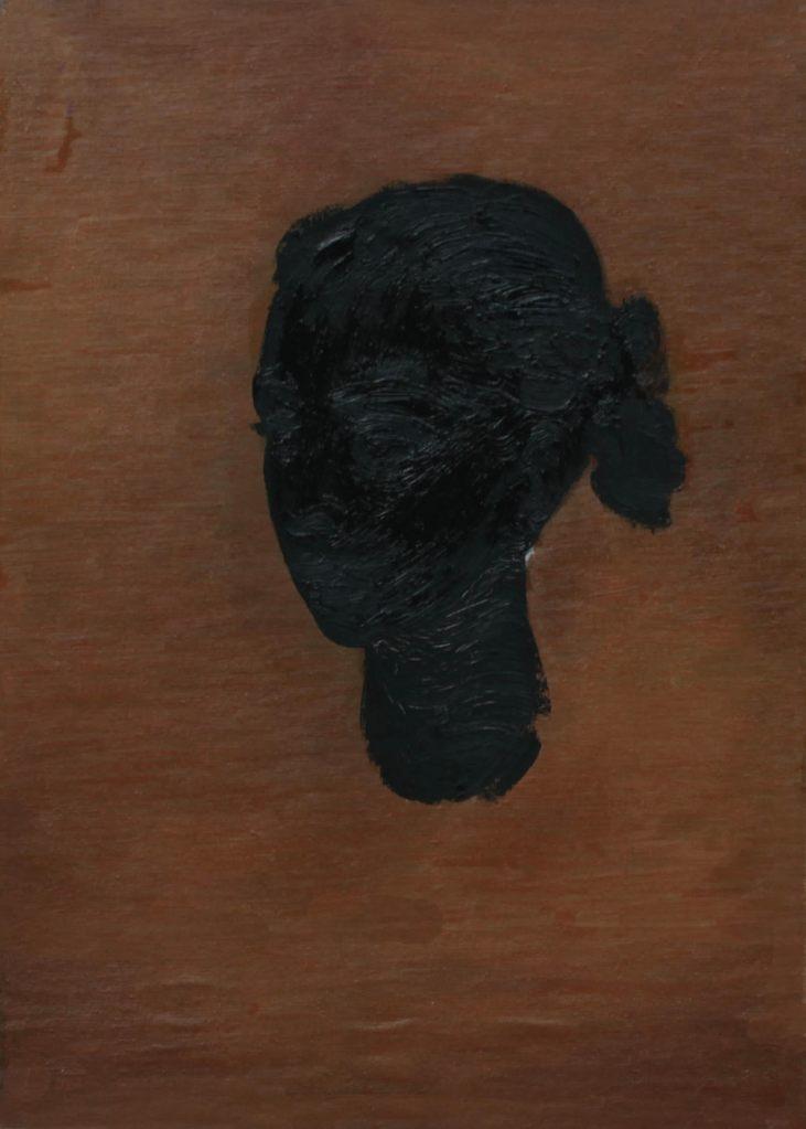 """""""Ritratto di donna"""" 2005 olio sul tela, 50X30"""