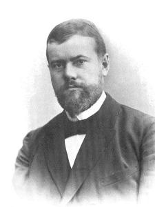 Max Weber, sociologo, filosofo, economista e storico tedesco.