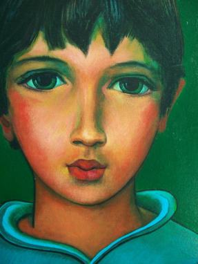Boy 50cm x 40cm/Acrylic on canvas/2005
