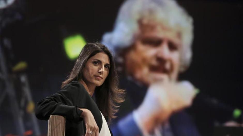 Virginia Raggi & Beppe Grillo