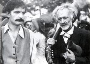 Bujar Lako e Kadri Roshi, considerati i più grandi attori della cinematografia albanese.