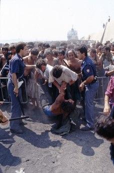Lo sbarco, 1991.