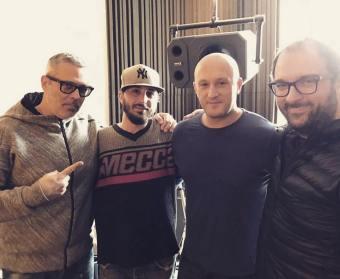 Fabrizio Sotti, Frankie Hi-Nrg Mc and Simone Keemo Tonsi