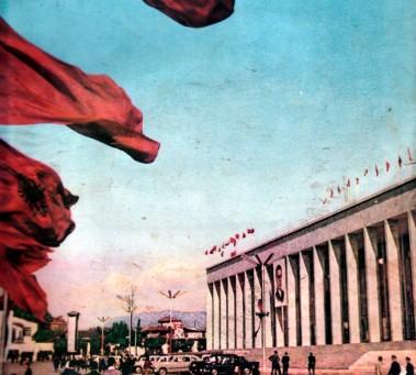 Tirana durante gli anni '70.