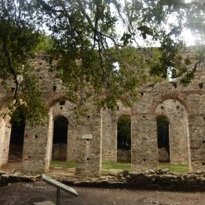 Anfiteatro romano a Durazzo, Albania.