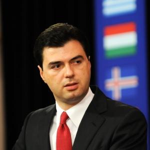 Lulzim Basha, Leader del Partito Democratico d'Albania.