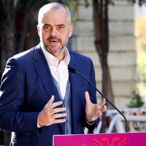 Edi Rama, Primo Ministro d'Albania.