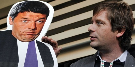 Matteo Renzi e Pippo Civati.
