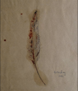 Feather 1, Gazmend Freitag 2012.
