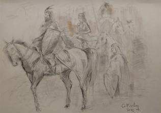 Skanderbeg in Kruja, Gazmend Freitag 2013.