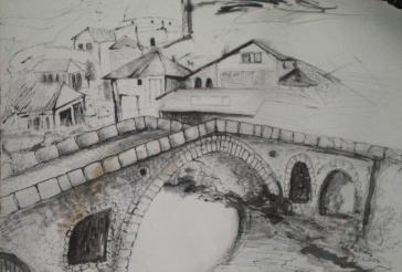 Stonbridge in Prizren 1. Gazmend Freitag 2007.