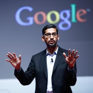 Sundar Pichai, CEO di Google.