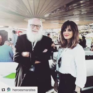 Anita Likmeta e Michelangelo Tagliaferri, Maratea 2017.