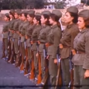 Donne albanesi nell'esercito, Albania durante gli anni '70.