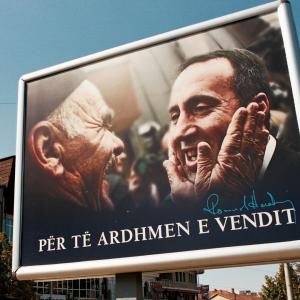 """Ramush Haradinaj, manifesto politico. """"Per il futuro del Paese."""""""