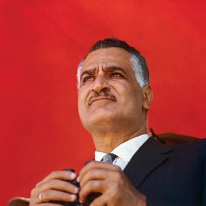 Gamal Abd el-Nasser (Alessandria d'Egitto, 15 gennaio 1918 – Il Cairo, 28 settembre 1970), Presidente della Repubblica egiziana, dal 23 giugno 1956 al 28 settembre 1970.