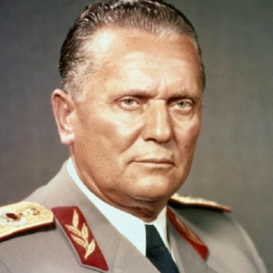 Josip Broz Tito, (7 maggio 1892 – Lubiana, 4 maggio 1980) rivoluzionario, politico, militare e dittatore jugoslavo.