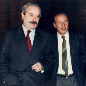 Giovanni Falcone e Paolo Borsellino.