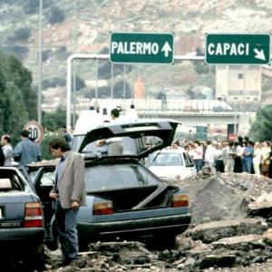 L'attentato a Giovanni Falcone, Capaci 1992.