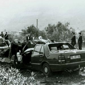 L'attentato a Giovanni Falcone, Capaci 1993.